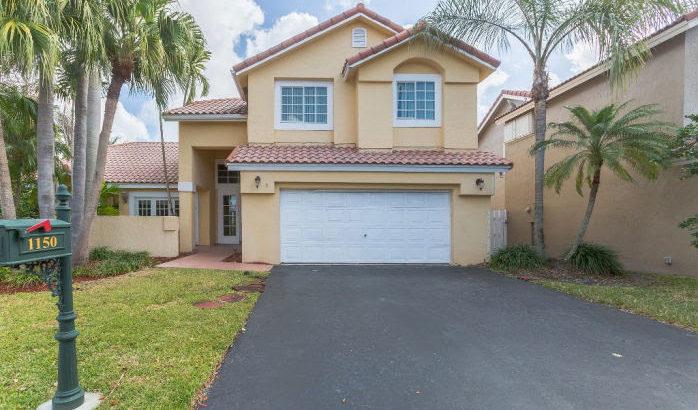 1150 Glenwood Ct., Weston, FL 33326